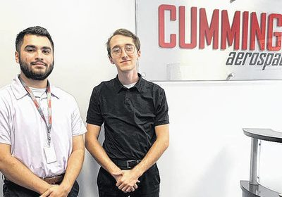 Cummings Aerospace provides UNCP students valuable career experience